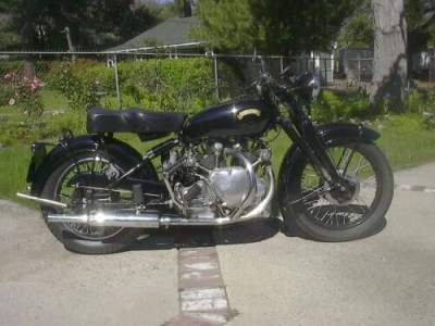 1951 Vincent Rapide Black for sale craigslist photo