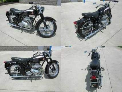 1955 Ariel Square Four MKII Black for sale