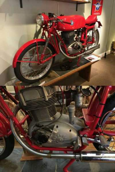 1955 MV Agusta 175CSS Squalo Red for sale craigslist photo