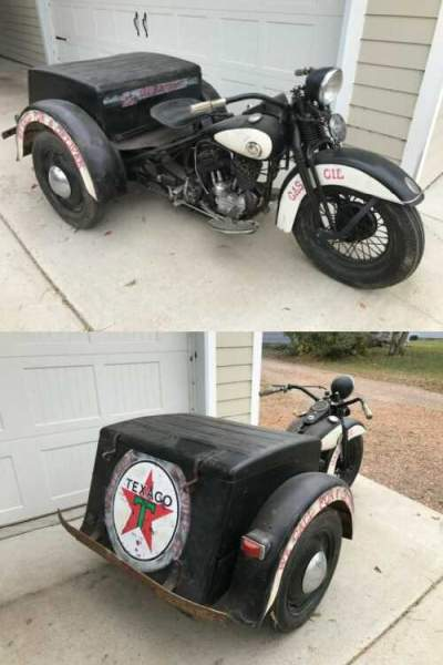 1956 Harley-Davidson Servi-Car Black for sale craigslist photo