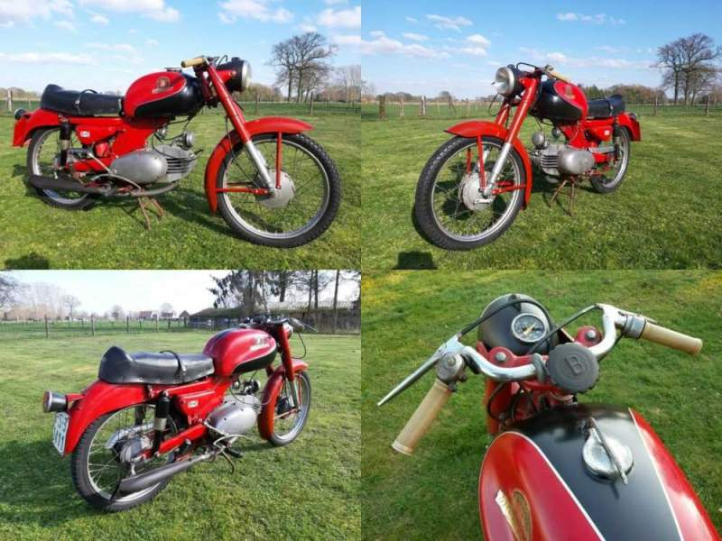 1956 Other Makes MOTOBI, NO RESERVE FREE SHIPPING RED for sale craigslist