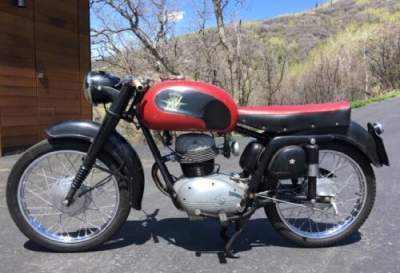 1957 MV Agusta MV Agusta AB 175cc Black for sale craigslist photo