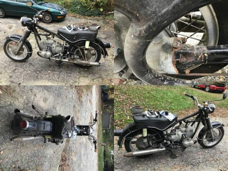 1960 BMW R-Series Black for sale craigslist photo