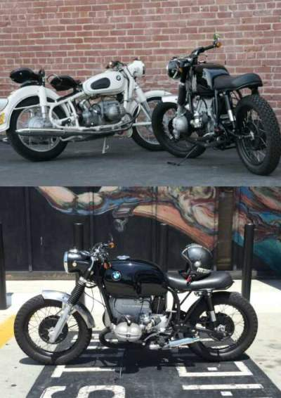 1960 BMW R-Series White and Black for sale craigslist photo