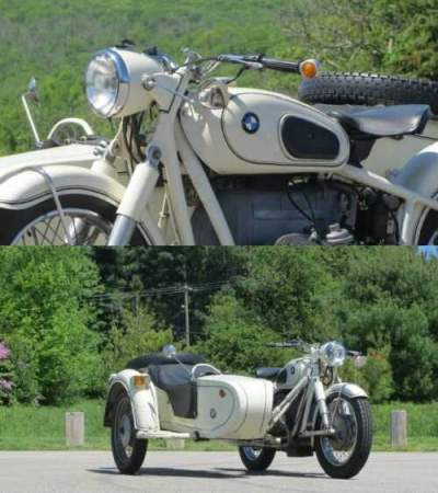 1960 BMW R-Series White for sale