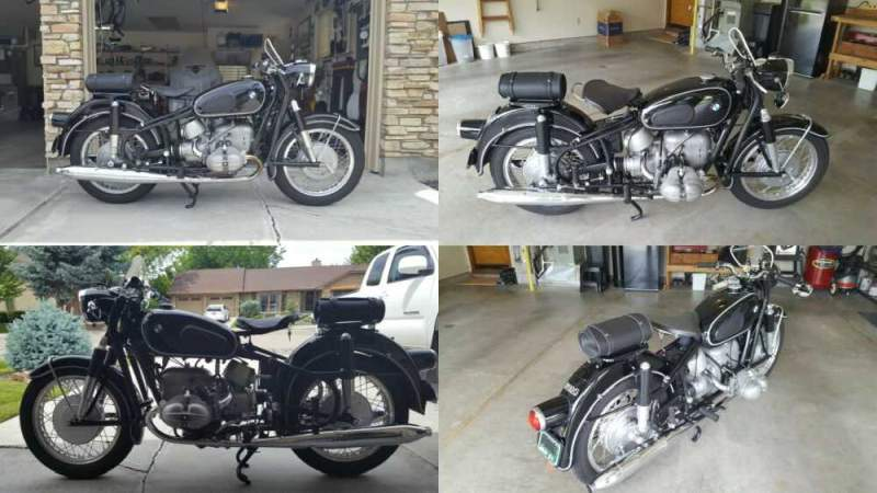 1961 BMW R-Series Black for sale craigslist photo