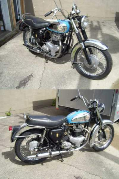 1961 BSA A`10 SUPER ROCKET  for sale craigslist photo
