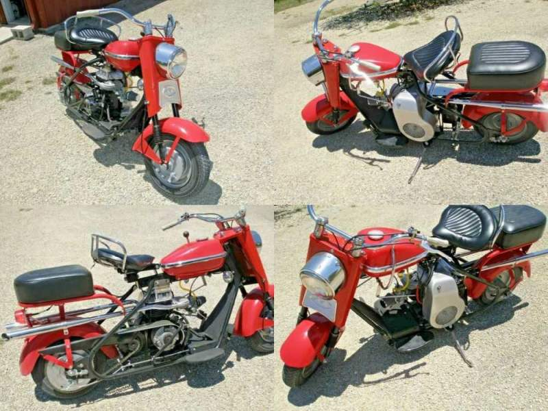 1961 Cushman Eagle Red for sale craigslist photo