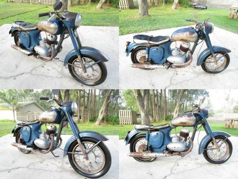 1961 Other Makes JAWA 250 TYPE 353 for sale craigslist