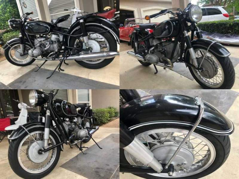 1962 BMW R-Series Black for sale