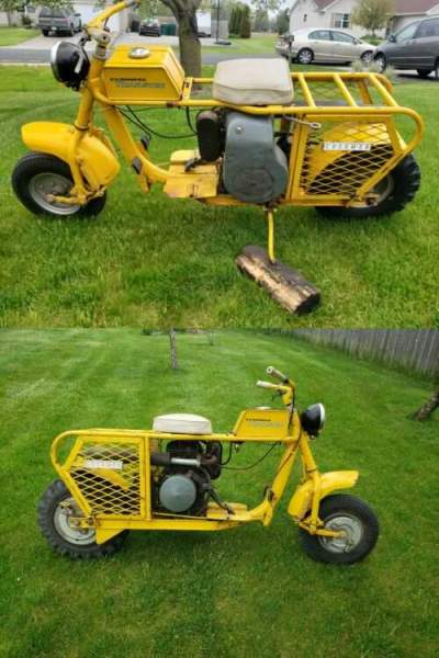 1962 Cushman Trailster Yellow for sale craigslist photo