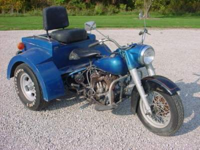 1962 Harley-Davidson Street Blue for sale craigslist photo