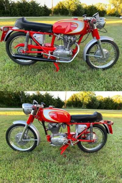 1964 Ducati Mach 1 250 red for sale craigslist photo