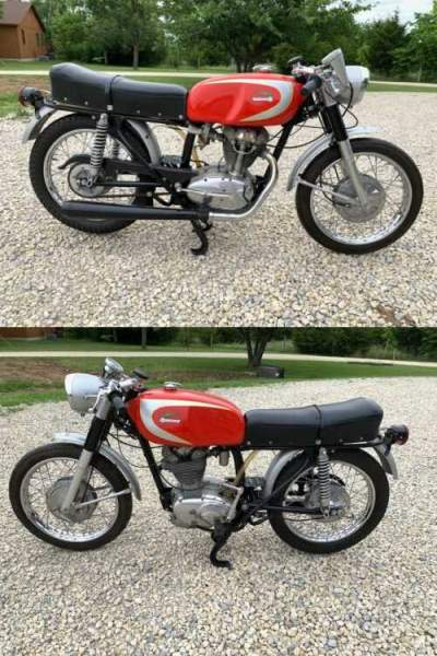 1964 Ducati Mark 3 250 red for sale craigslist photo