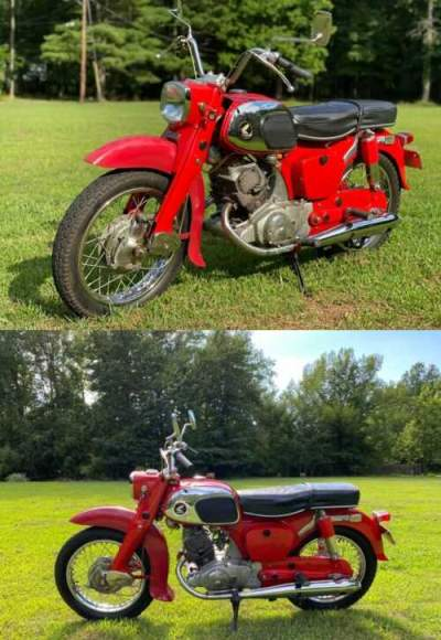 1964 Honda Ca95 Baby Dream Red for sale craigslist photo
