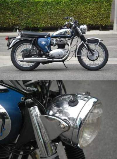 1965 BSA A65 Lightning Rocket Blue for sale craigslist photo