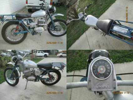 1965 Greeves TRAIL. SCOTTISH silver and blue for sale craigslist