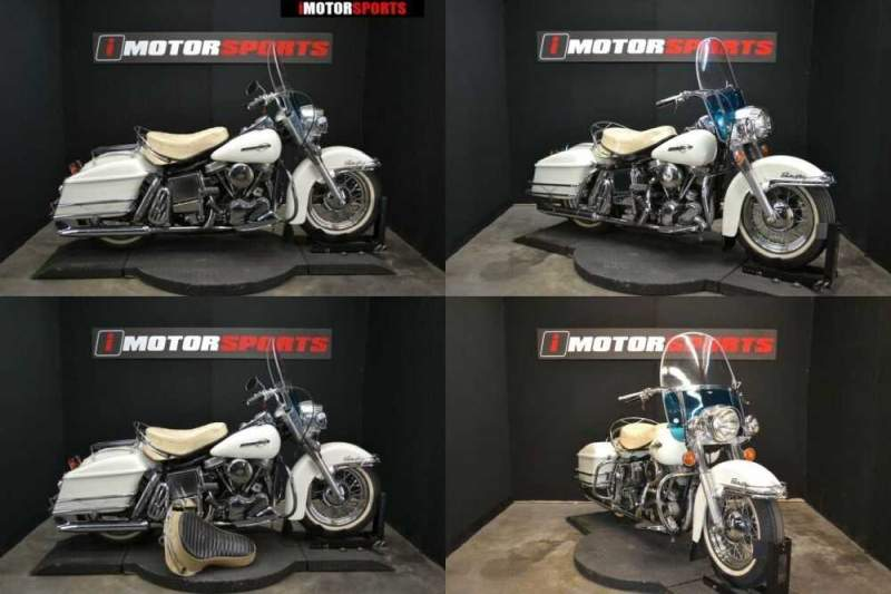 1965 Harley-Davidson FLH White for sale