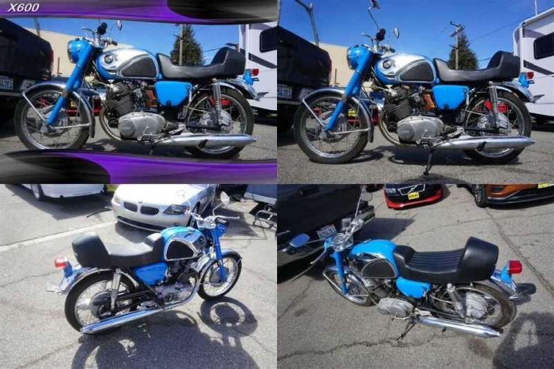 1965 Honda 305 SUPER HAWK Blue for sale craigslist