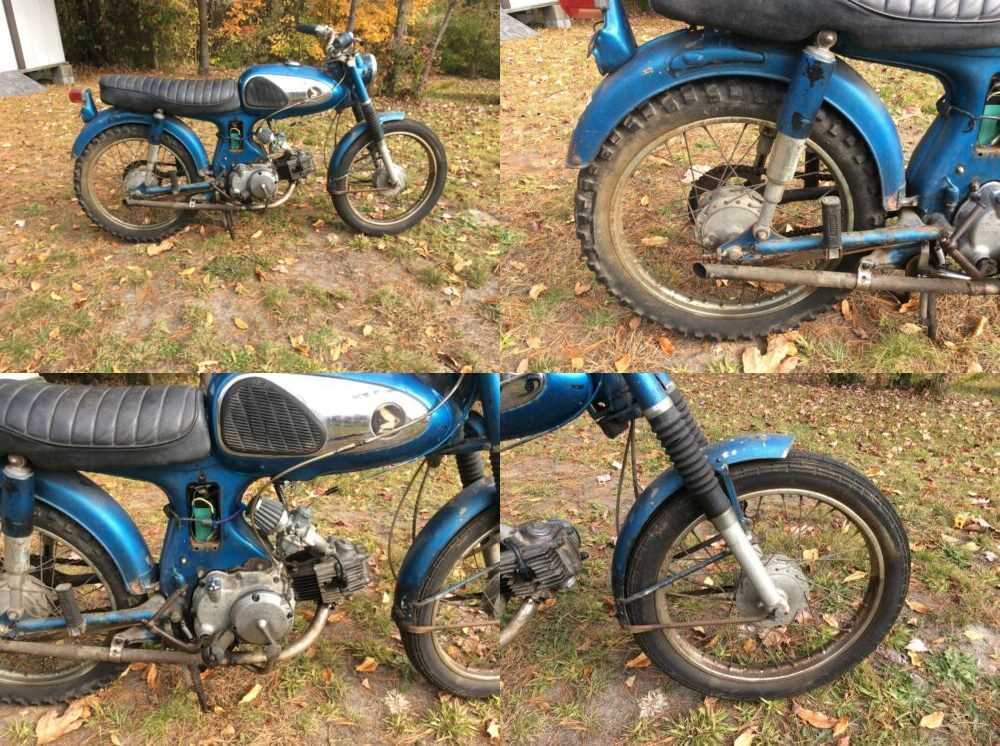 1965 Honda S90 Blue for sale