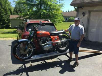 1966 BSA Hornet Orange for sale craigslist photo