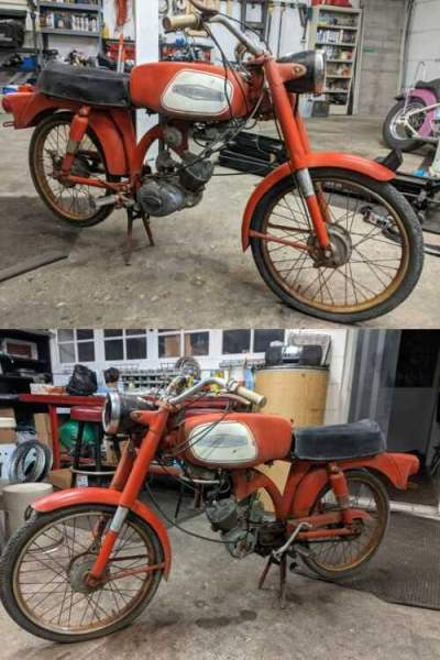 1966 Harley-Davidson Leggero Red for sale craigslist photo