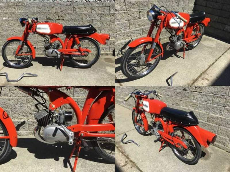 1966 Harley-Davidson M-50 sport Red for sale craigslist