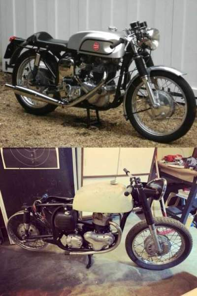 1966 Norton Atlas Black for sale craigslist photo