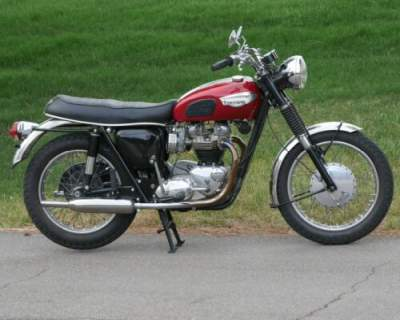 1966 Triumph Bonneville T 120 R Red for sale craigslist