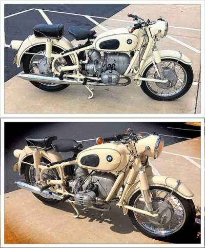 1967 BMW R-Series Dover White for sale