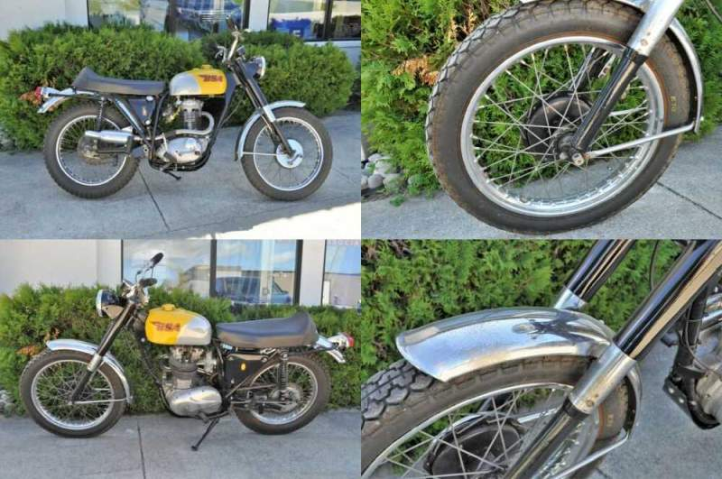 1967 BSA Victor 441 Yellow for sale craigslist