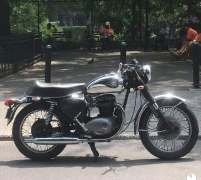 1967 BSA lightening A65 Silver for sale craigslist photo