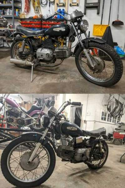 1967 Harley-Davidson Sportster Black for sale craigslist photo