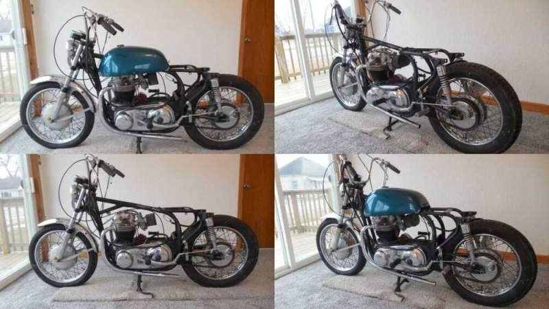 1967 Norton Atlas 750 Blue for sale craigslist photo