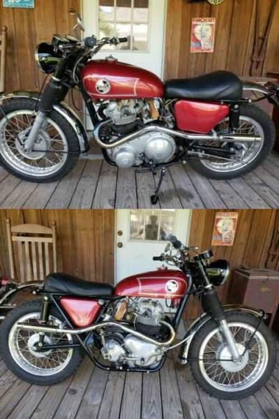 1967 Norton P11 Red for sale craigslist photo