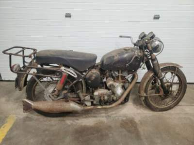 1967 Norton Velocette Velo Venom 500 Barn Find Black for sale craigslist photo