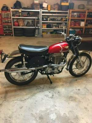 1967 Other Makes G80 CS SCRAMBLER FREE SHIPPING UK OR EU Red for sale