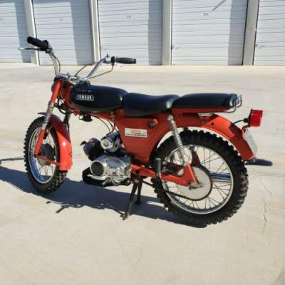 1967 Yamaha 1967 Yamaha Trailmaster 80cc Red for sale craigslist