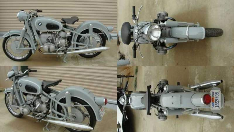 1968 BMW R-Series Bristol Gray for sale craigslist photo