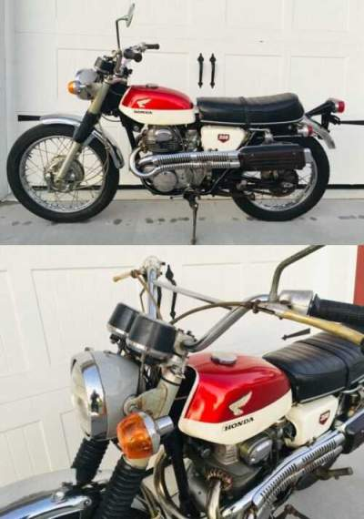 1968 Honda CL  for sale craigslist photo
