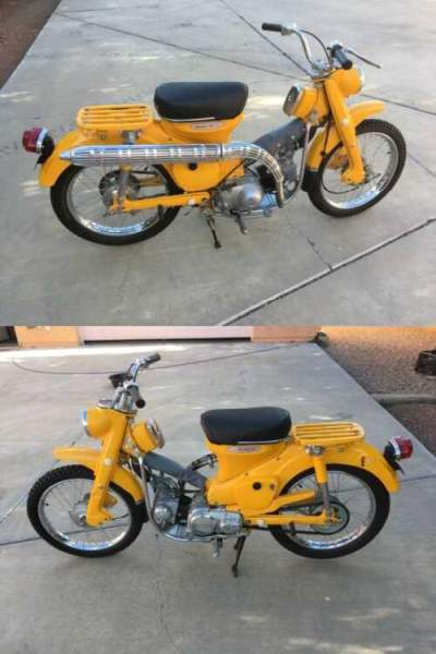 1968 Honda CT Yellow for sale craigslist photo