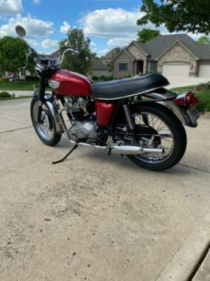 1968 Triumph Bonneville Red for sale craigslist