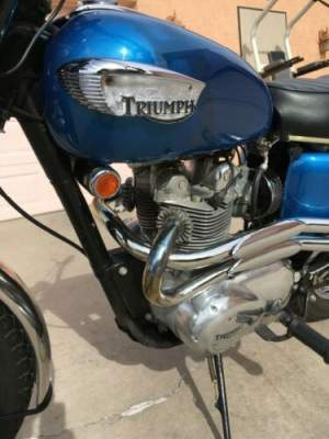 1968 Triumph Trophy Blue for sale craigslist
