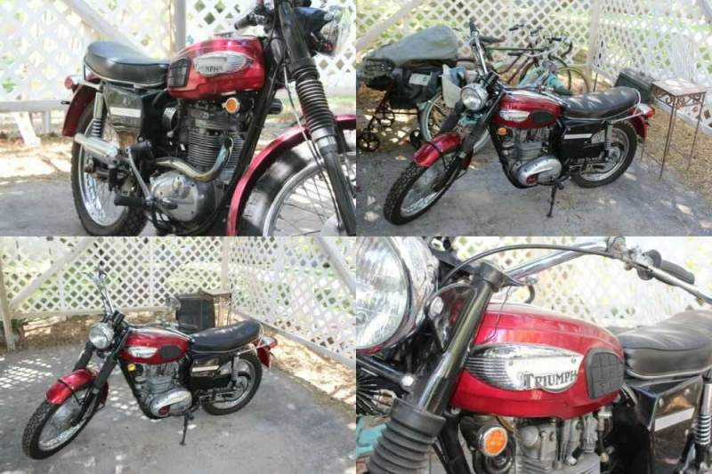 1968 Triumph trophy red for sale craigslist