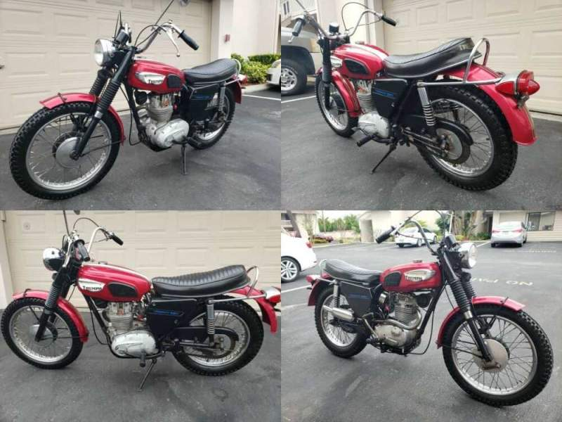 1968 Triumph trophy red for sale craigslist photo