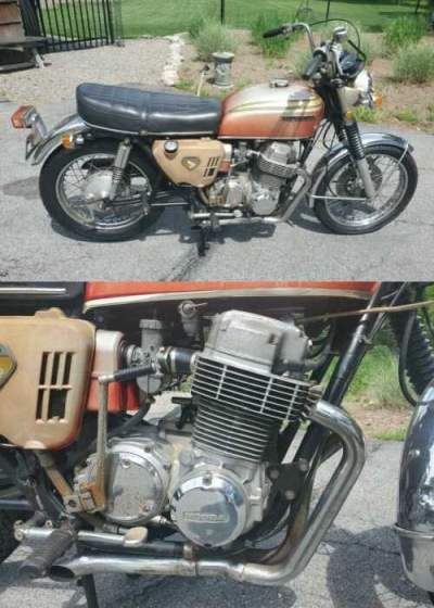 1969 Honda CB Red for sale craigslist   Used motorcycles ...