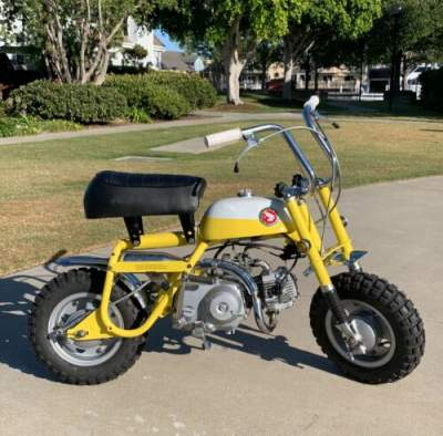 1969 Honda Z50A mini trail Yellow/white for sale craigslist