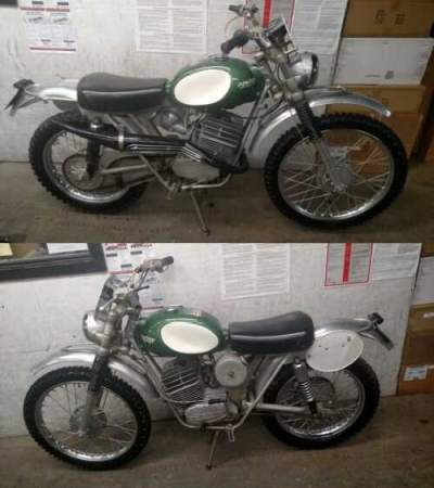 1969 KTM 125 Six Days Green for sale craigslist