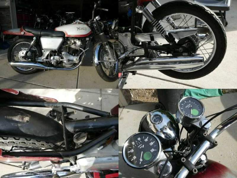1969 Norton Fastback siver and red for sale craigslist photo