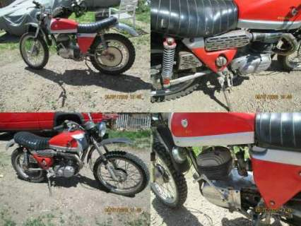 1970 Bultaco matador red and silver for sale craigslist photo